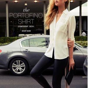 Express White Portofino Shirt